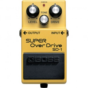 SD-1 Super overdrive - Boss